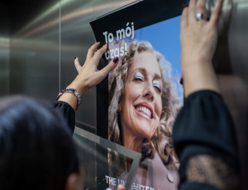 Sephora start a new campaign The Unlimited Power Of Beauty in head office
