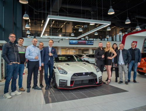 Premiere of the first Nissan GT-R in this part of Europe in the version NISMO