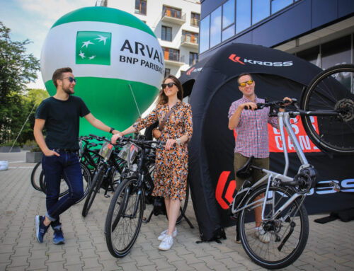 Photographic support of event #ArvalBikeDay