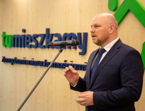 Opening a new office TU MIESZKAMY